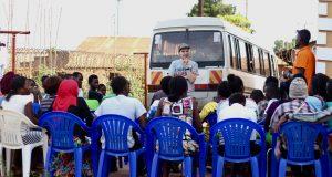 Työpajan päätteeksi kerrattiin, mitä tuli opittua, Kampala