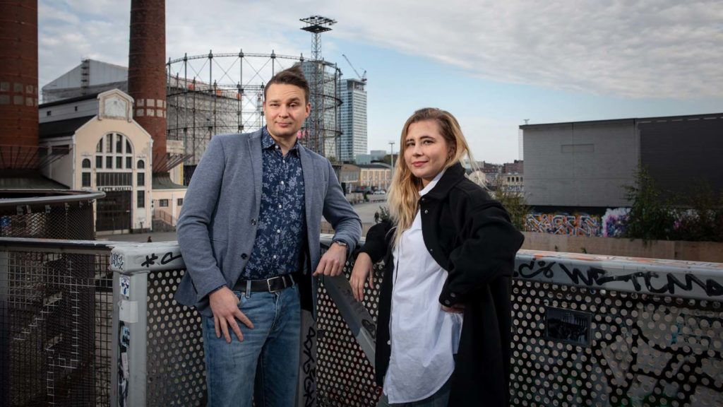 Riku Juurikko ja Laura Kankaala Outreach