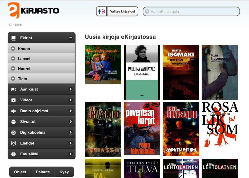 e-kirjasto