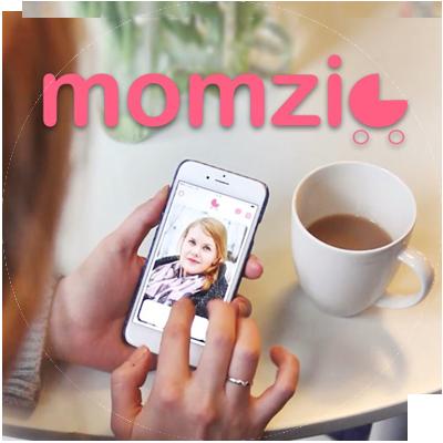 momzie sovelluksella voi etsiä uusia äiti-kavereita