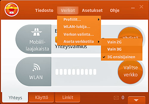 Nettitikun yhteysohjelmiston asentaminen ja käyttäminen - Elisa ja Saunalahti asiakaspalvelu