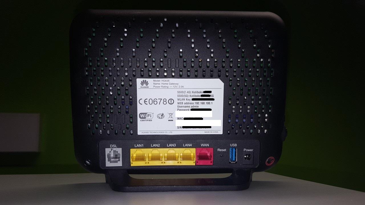 Huawei Hg635 Hinta