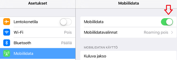 ios 7 bluetooth ei toimi