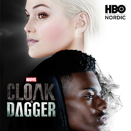 Marvel's Cloak & Dagger HBO Nordicilla