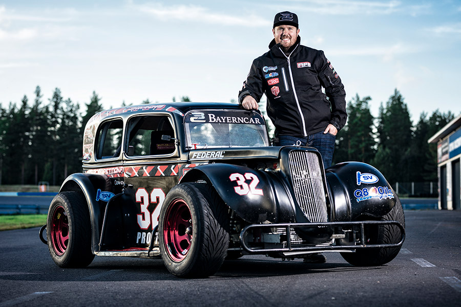 Johan Ahokas - Legends Ford Sedan -34