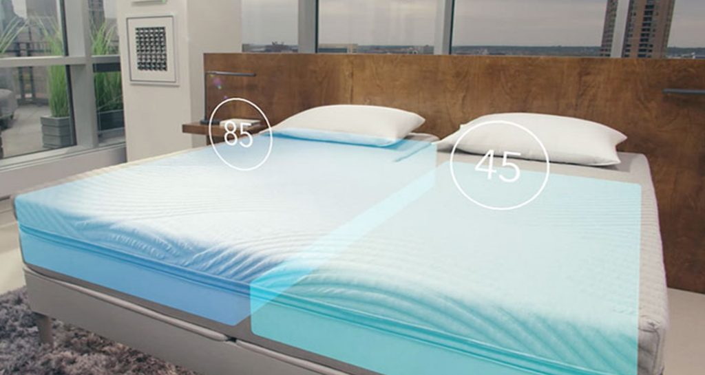 Sleep Number 360 Smart Bed  -älysänky esiteltiin CES messuilla 2016