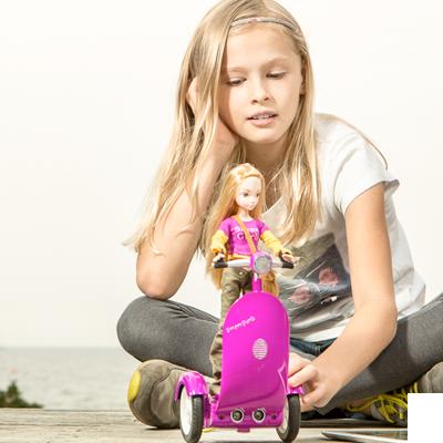SmartGurlz on erityisesti tytöille suunnattu lelurobotti