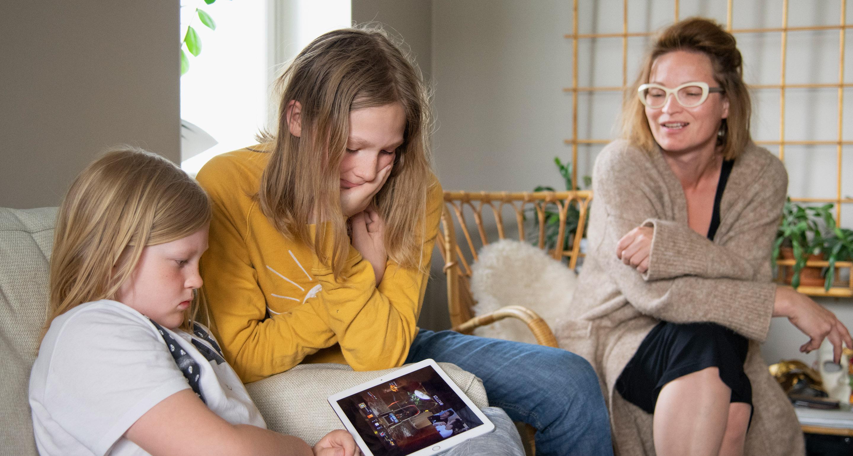Ruutuaika puhuttaa perheissä.